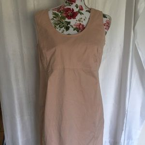 Gap maternity blush pencil dress small